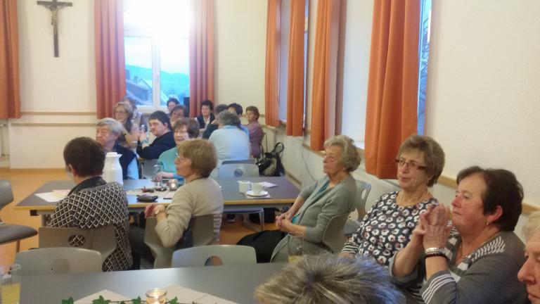 SPD Frauengruppe Theisenort richten Senioren -Kaffeekränzchen aus